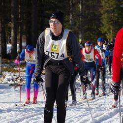 Skiing 90 km - Fredrik Jarhede (7674)