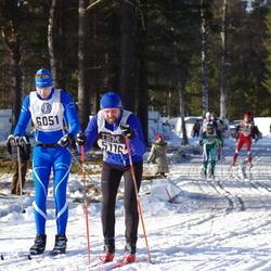 Skiing 90 km - Michael Löfgren (5116), Anders Åberg (6051), Jems Martinsson (8547)