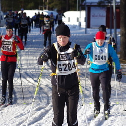 Skiing 90 km - Fredrik Öman (4853), Erik Stomrud (6040), Fredrik Tyrberg (6284)