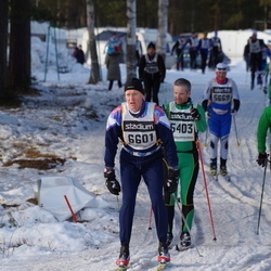 Skiing 90 km - Johan Nilsson (5403), Viktor Gredin (5693), Dick Fredholm (6601)