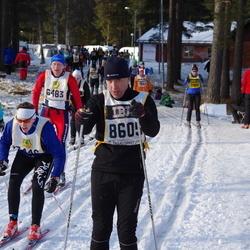 Skiing 90 km - Daniel Damm (7329), Leif Bäckman (8605)