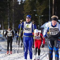 Skiing 90 km - Karl Eklund (6769), Adam Sernheim (11431)