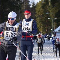 Skiing 90 km - Bror Eriksson (5127), Truls Håkansson (6148)
