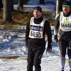 Skiing 90 km - Arne Kjell Vikhagen (6850), Roland Wechselberger (14442)