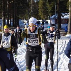 Skiing 90 km - Olle Kvarnfors (7072), Alexander Herbring (10272)