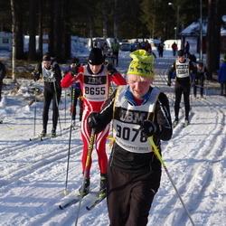 Skiing 90 km - Christian Rohde (8655), Tobias Jonsson (9078)