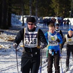 Skiing 90 km - Torbjörn Bovin (5723), Bjørn Roger Wilhelmsen (14576)