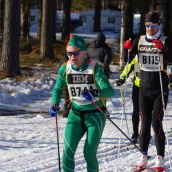 Skiing 90 km - Edgars Grins (8155), Lars Karlsson (8744)