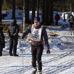 Skiing 90 km - Alexander Lilja (6191)