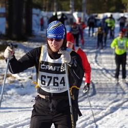 Skiing 90 km - Erik Lindh (6764)