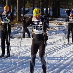Skiing 90 km - Patrik Bergström (6782), Åke Lindahl (7185)