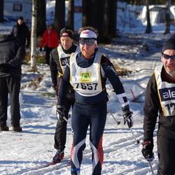Skiing 90 km - Stian Andersen (7657), Dominic Mcaleenan (12859)