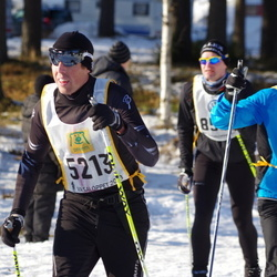 Skiing 90 km - Henrik Lenngren (5213), Torsten Nederman (14695)