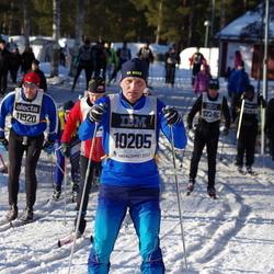 Skiing 90 km - Anders Rådström (10205), Fredrik Schatvet (11920)