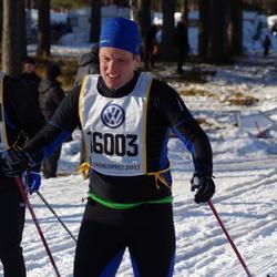 Skiing 90 km - Joel Lundqvist (6989), Anders Lindgren (16003)