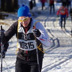 Skiing 90 km - Alexander Lundgren (10315)