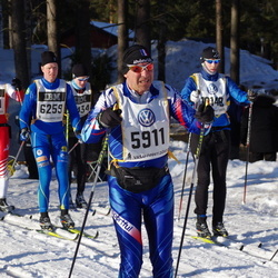 Skiing 90 km - Jean Gosseaume (5911)