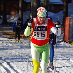 Skiing 90 km - Anders Lindhe (6915)