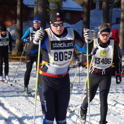 Skiing 90 km - Daniel Karlsson (8069), Kristoffer Ljunggren (13486)