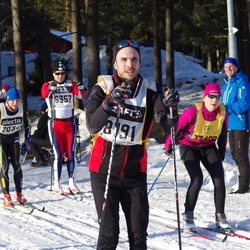 Skiing 90 km - Anders Glämsta (6357), Robert Stattin (8191)
