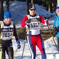 Skiing 90 km - Anders Glämsta (6357), Anders Jonasson (7034)