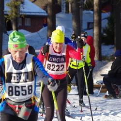 Skiing 90 km - Hubert Kurt Lepperdinger (8222), Leif Krog (8658)