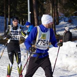 Skiing 90 km - Anders Nises (7754), Johan Leander (8241)