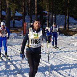 Skiing 90 km - Fredrik Snis (7235), Ola Eriksson (7545), Lars Olsson (11482)