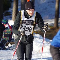 Skiing 90 km - Fredrik Pontén (7498)