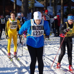 Skiing 90 km - Jonas Broström (6236), Henrik Gabrielsson (13788)