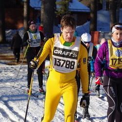 Skiing 90 km - Henrik Gabrielsson (13788), Nicole Romanin (17199)