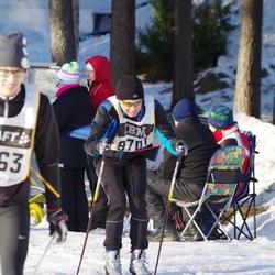 Skiing 90 km - Daniel Gustavsson (8701)