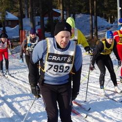 Skiing 90 km - Anders Wikman (7992)