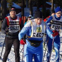 Skiing 90 km - Gunnar Franzon (6462), Emil Kristiansson (8128), Marcus Wallin (12622)