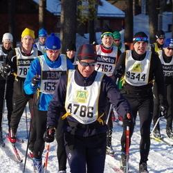Skiing 90 km - Giampaolo Letta (4786), Carl-Johan Magnusson (9344)