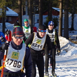 Skiing 90 km - Carl-Johan Magnusson (9344), Björn Fredriksson (15391)