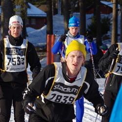 Skiing 90 km - Jonas Nilsson (7533), Andreas Gormsen (7839)