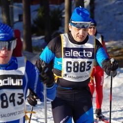 Skiing 90 km - Anatoly Andriyash (6883)
