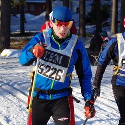 Skiing 90 km - Jens Beiron (6508), Rune Holtan (15226)