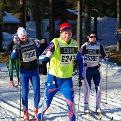 Skiing 90 km - Dan Sjölander (6243), Espen Glendrange (7900)