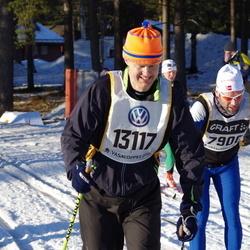 Skiing 90 km - Anders Lindeborg (13117)