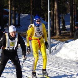 Skiing 90 km - Sten Persson (7641), Alexander Fransson (15175)