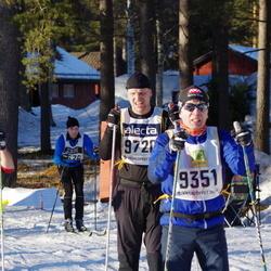 Skiing 90 km - David Linde (7308), Peter Rydberg (9351), Johan Robertsson (9720)