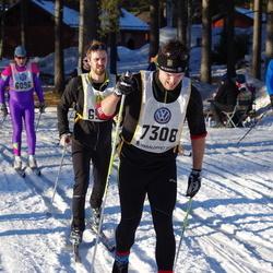 Skiing 90 km - Jan-Anders Eliasson (6096), David Linde (7308), Linus Gustafsson (8676)