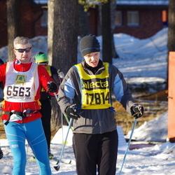 Skiing 90 km - Trond Sydskogen (6563), Cecilia Karlsson (17814)
