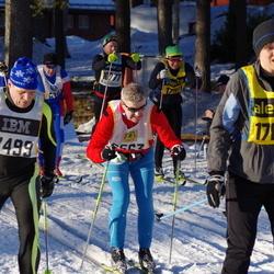 Skiing 90 km - Jan-Erik Backlund (7499), Cecilia Karlsson (17814)