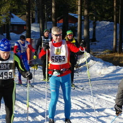 Skiing 90 km - Trond Sydskogen (6563), Jan-Erik Backlund (7499)
