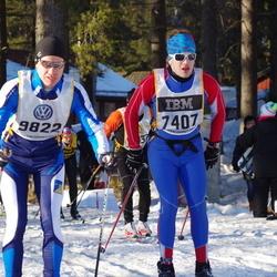 Skiing 90 km - Adam Fridh (7407)