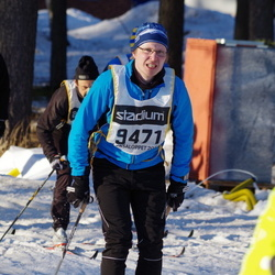 Skiing 90 km - Björn Söderlund (9471)
