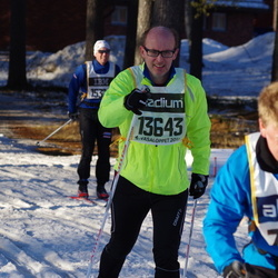 Skiing 90 km - Petter Halling (7075), Carl Persson (13643)